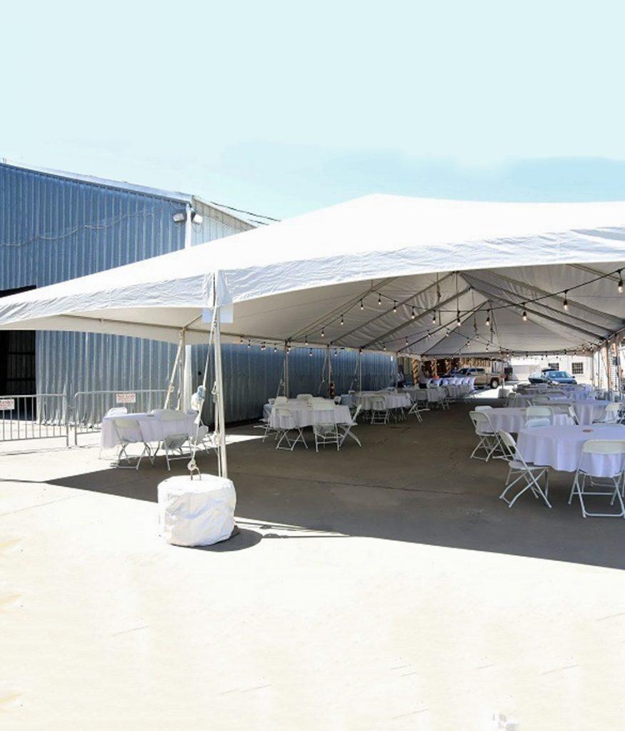30 x 50 Qwik Top Tent