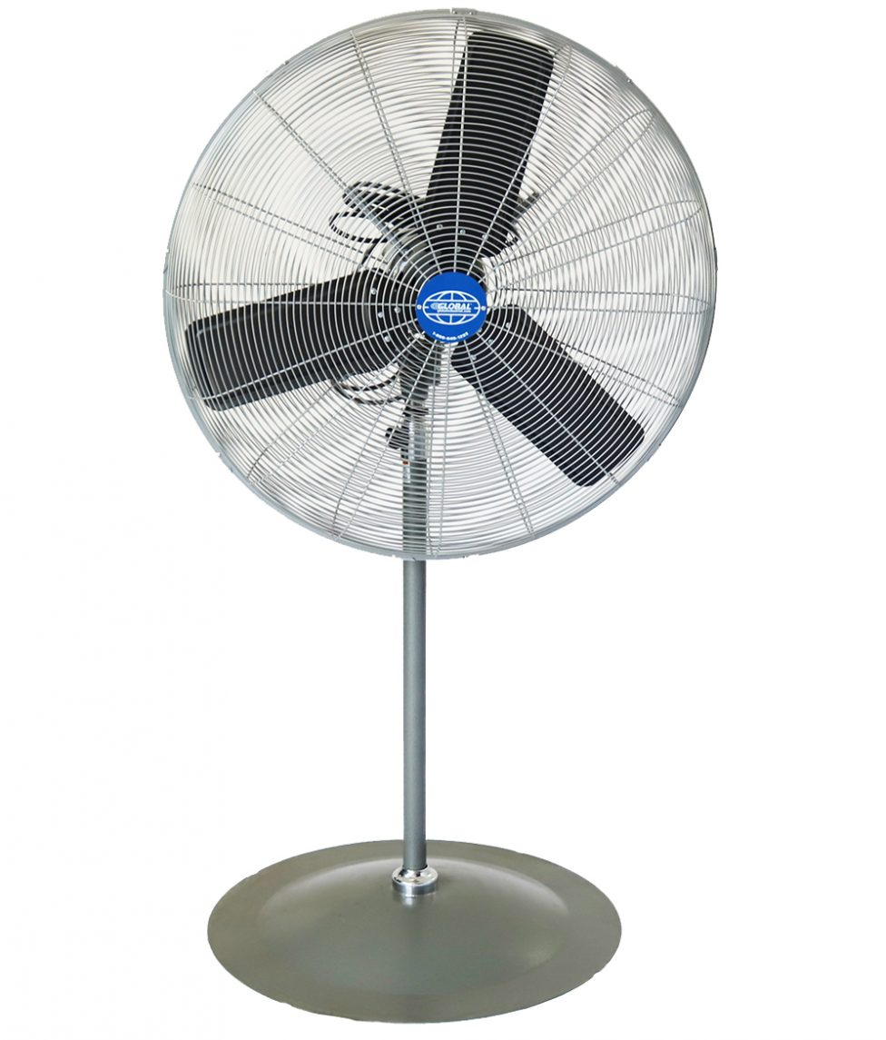 30_ Oscillating Pedestal Fan