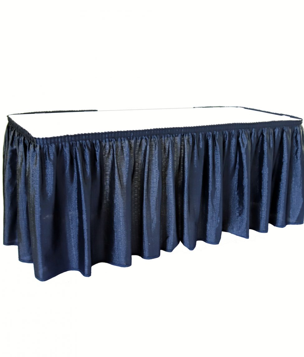 4' Skirted Table
