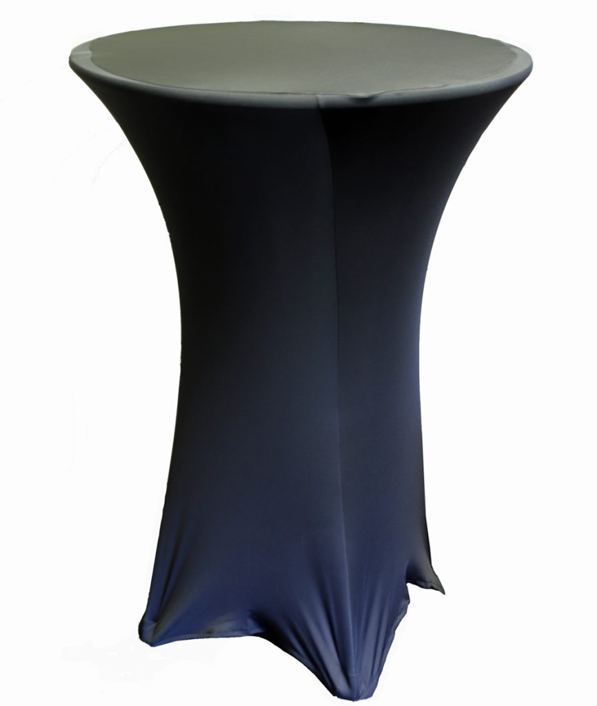 Bistro Table Cover, Black