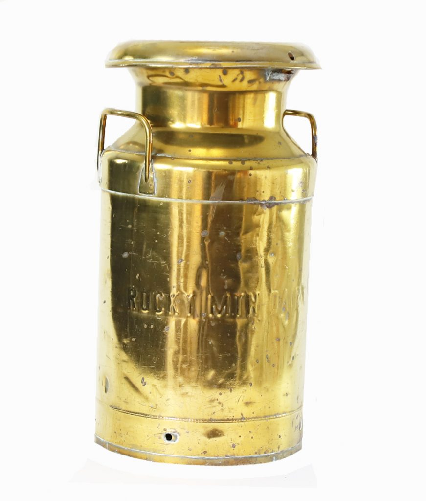 Brass Stool Decor