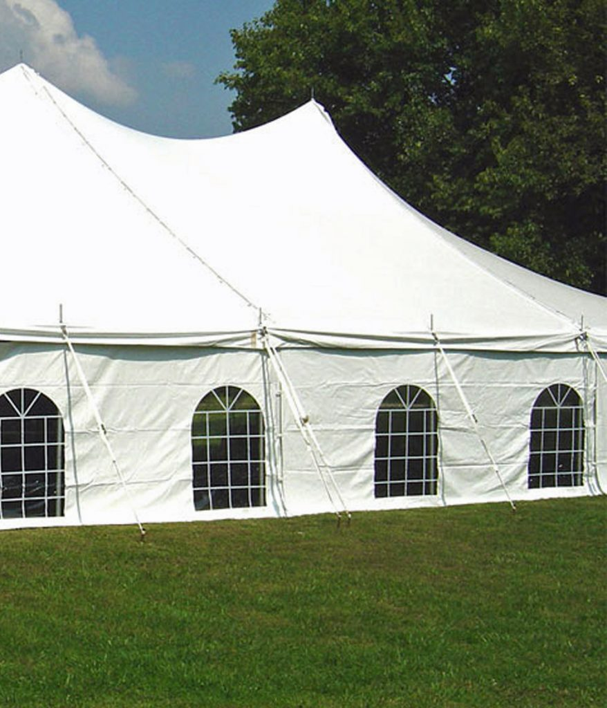 Cathedral Window Sidewall for tents