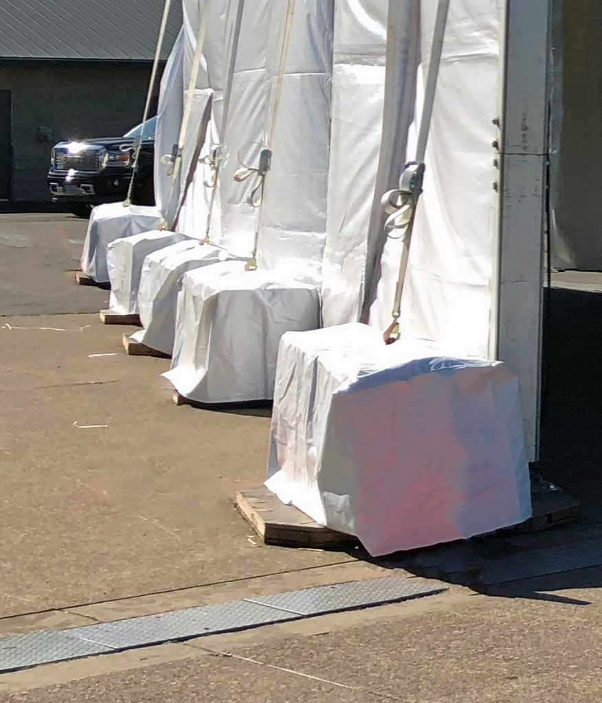 Large Concrete Block with Covers