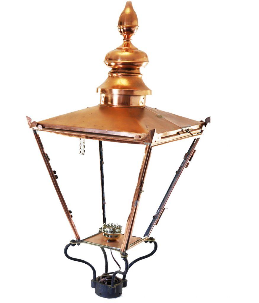 Copper Lantern Decor