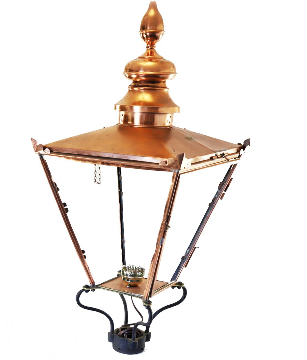 Copper Lantern Decor