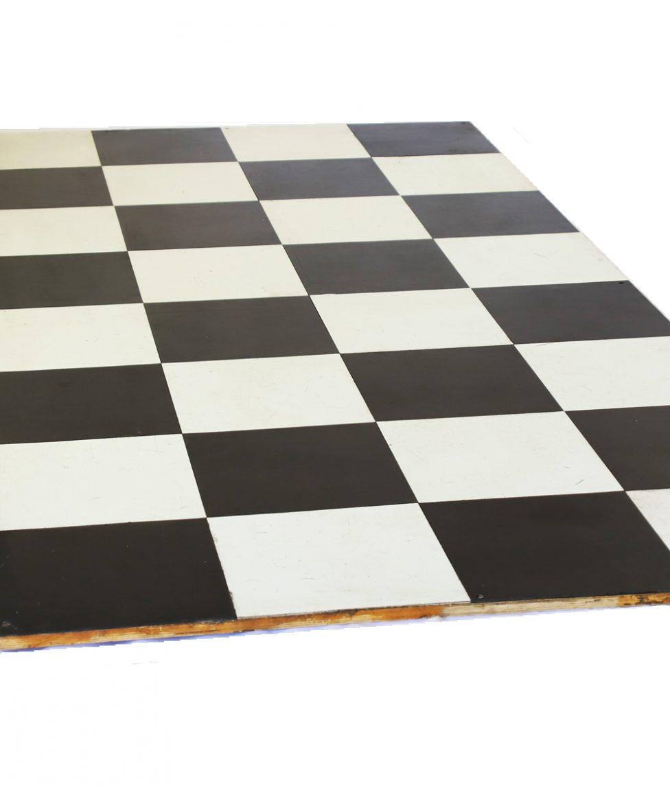 Dance Floor - Black _ White Tile