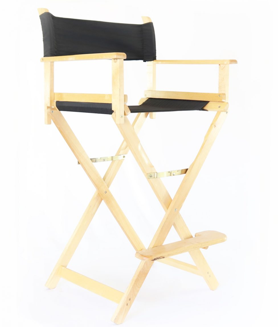 Directors Chair, Black