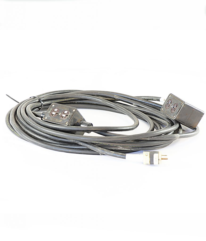 Double-Box Booth Cord