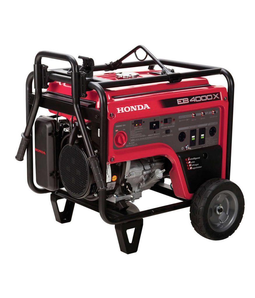 Honda EB4000x 3.6KVA Gasoline Generator