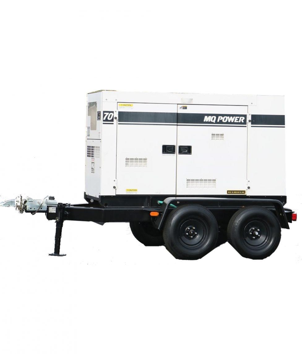 MQ Power Whisperwatt 70 KVA Diesel Generator