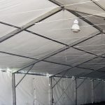 Tent Sidewall Interior Structure