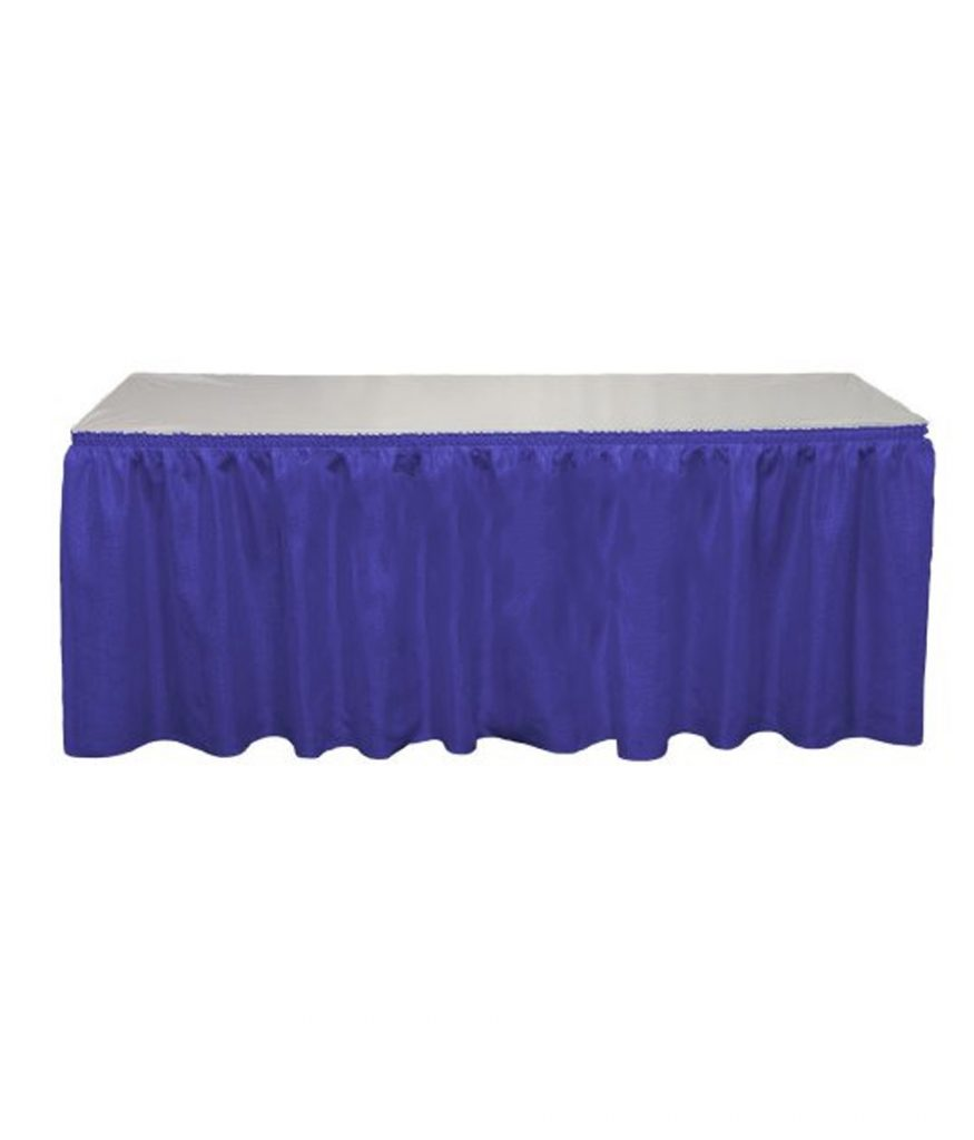 Table Skirt, Expo Blue
