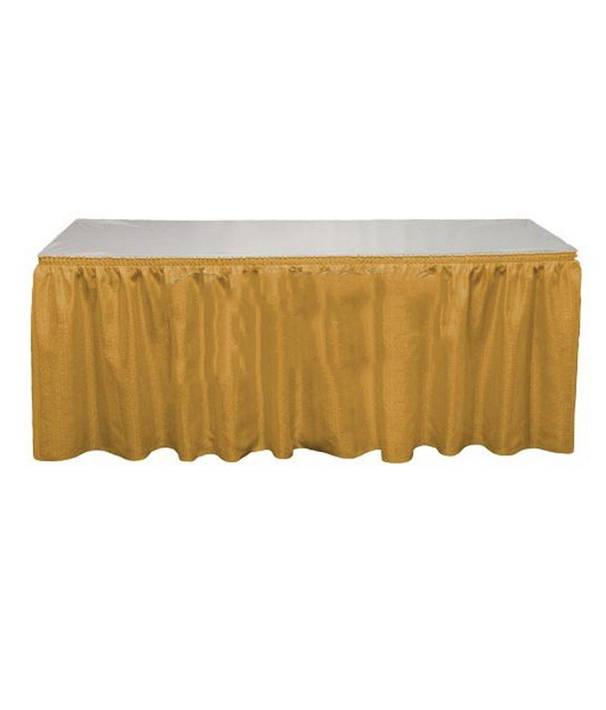 Table Skirt, Gold