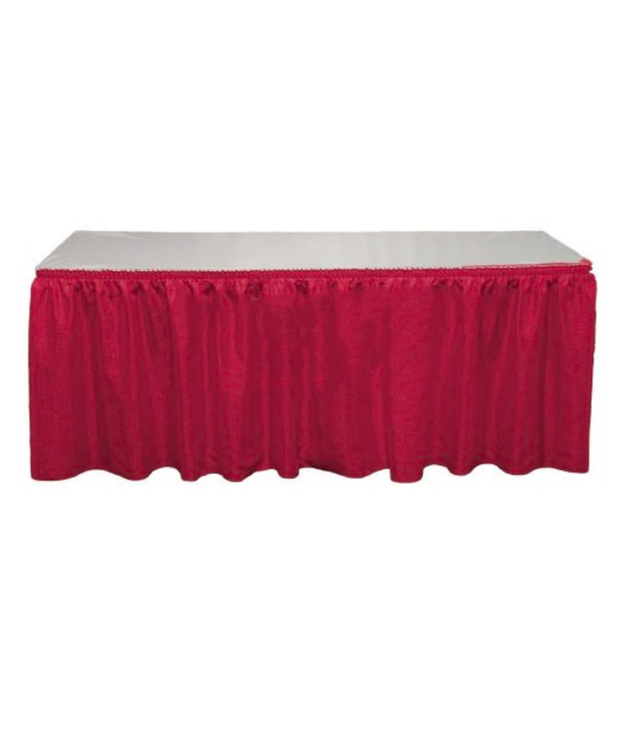 Table Skirt, Red