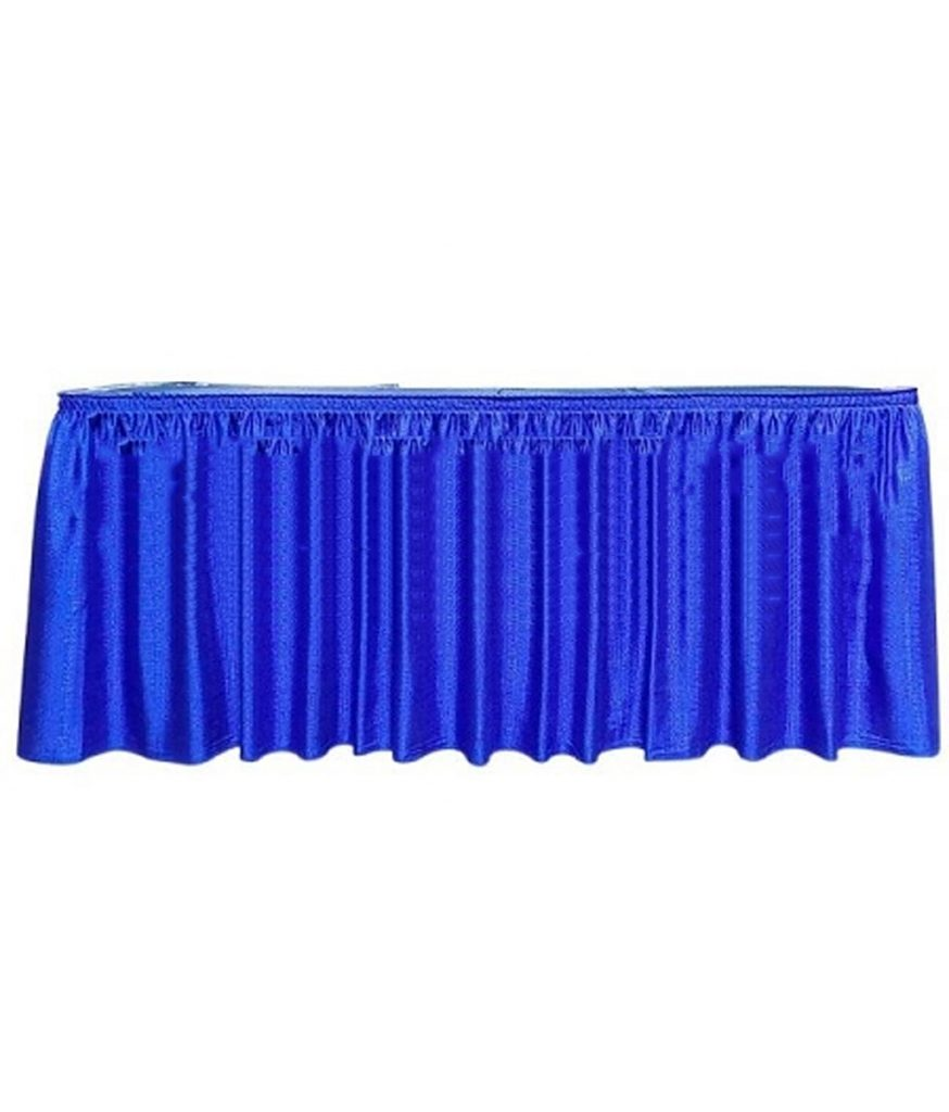 Table Skirt, Royal Blue