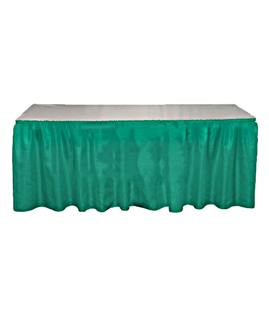 Table Skirt, Teal
