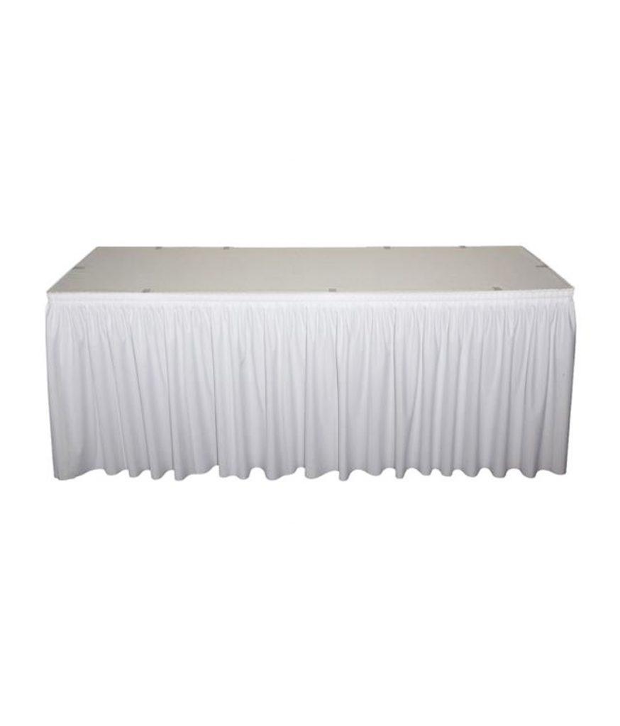 Table Skirt, White