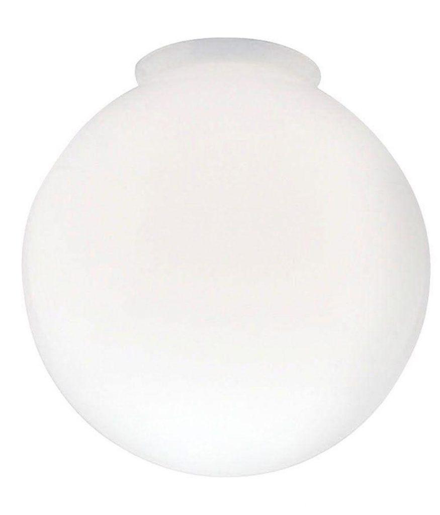 White Globe Light