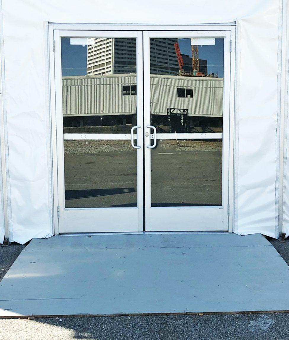 Tent Hard Doors