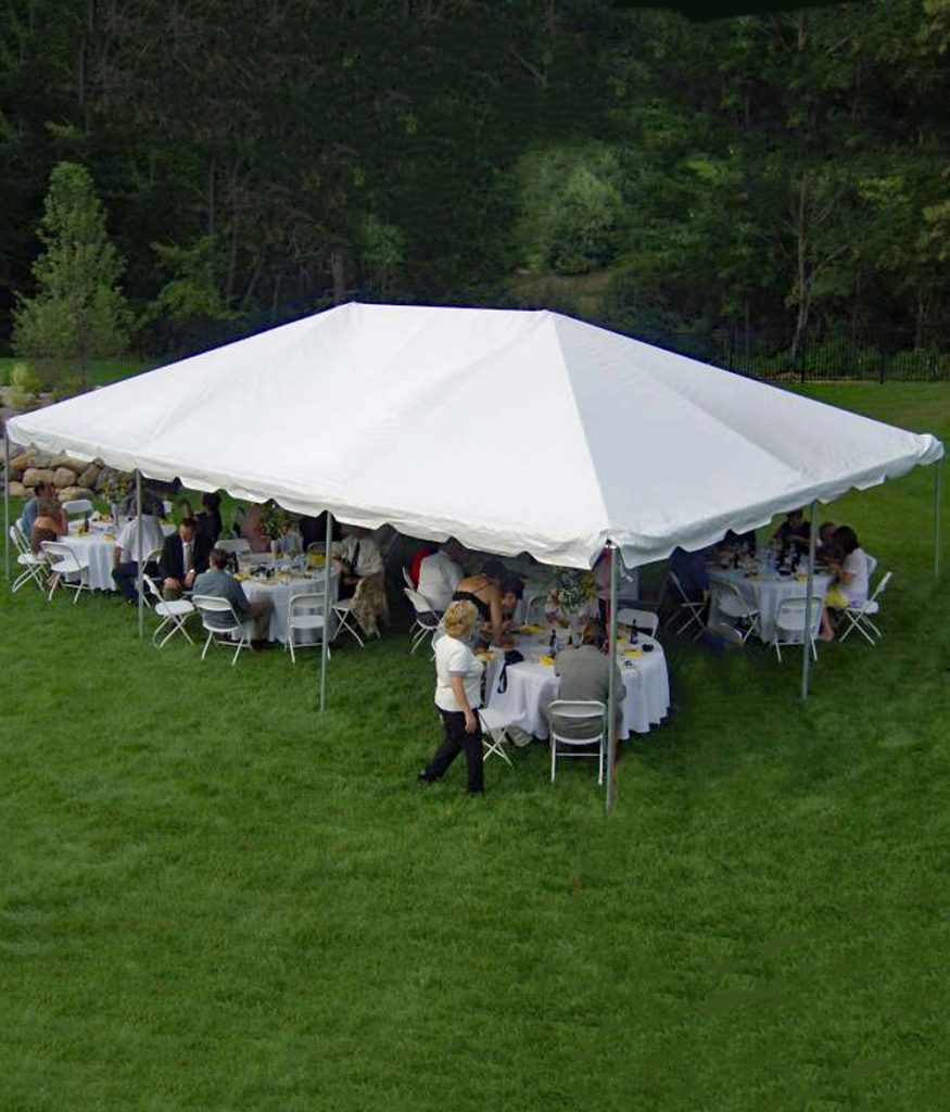 20' x 30' Western Frame Rentable Tent 2