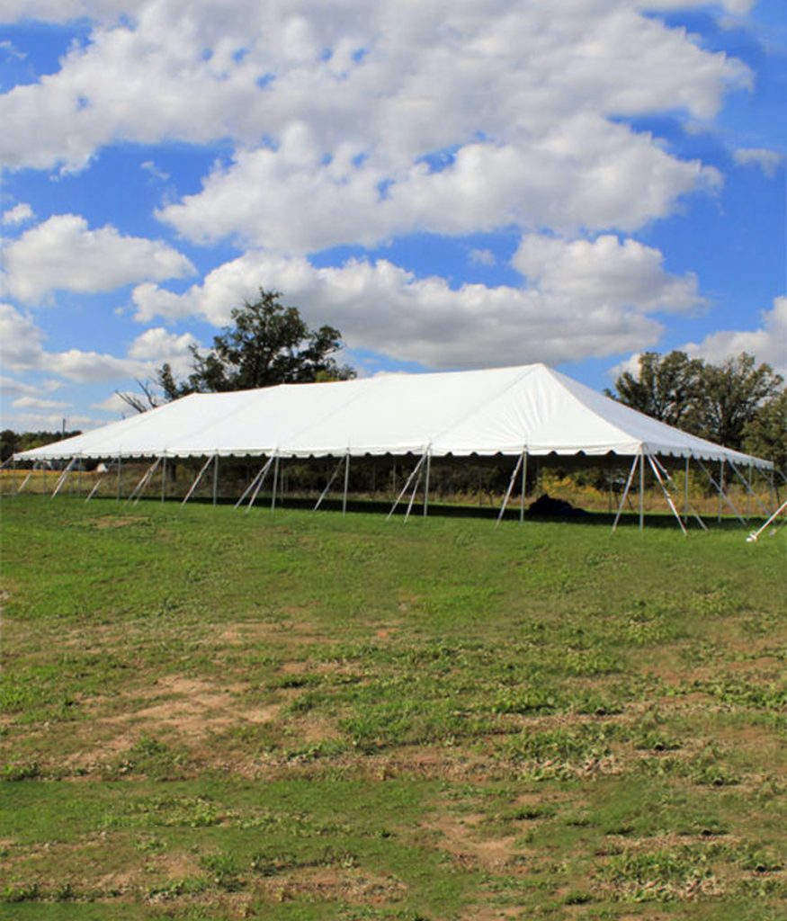 40' x Western Frame Rentable Tent