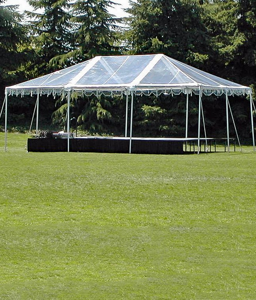 20 x 30 Clear Top Frame Tent